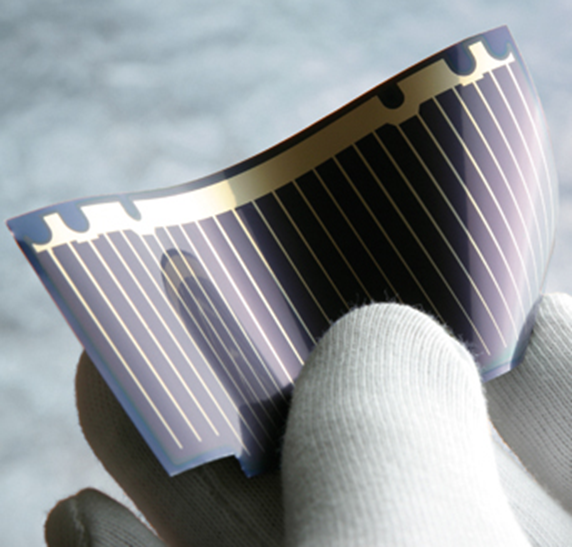 Flexible thin-film solar cell